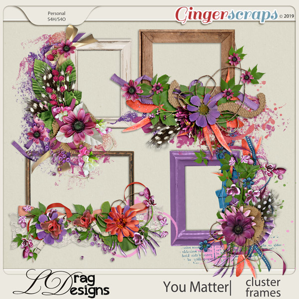 You Matter: Cluster Frames by LDragDesigns