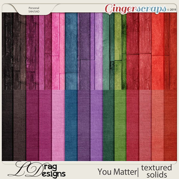 You Matter: Textured Papers by LDragDesigns