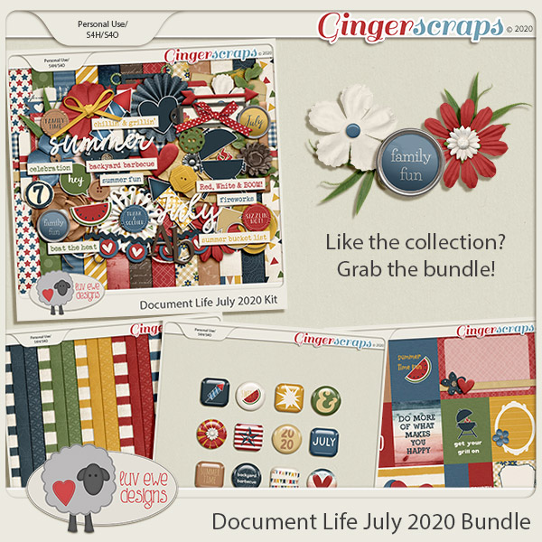 Document Life July 2020 Bundle by Luv Ewe Designs