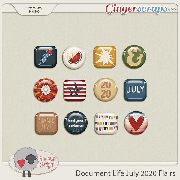 Document Life July 2020 Flairs by Luv Ewe Designs
