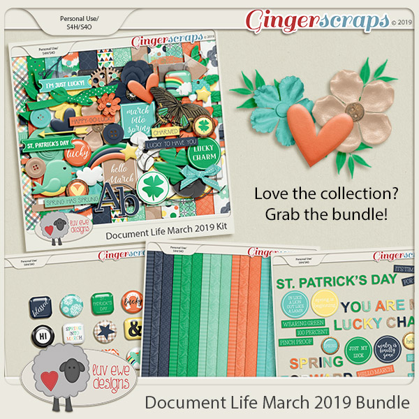Document Life March 2019 Bundle by Luv Ewe Designs