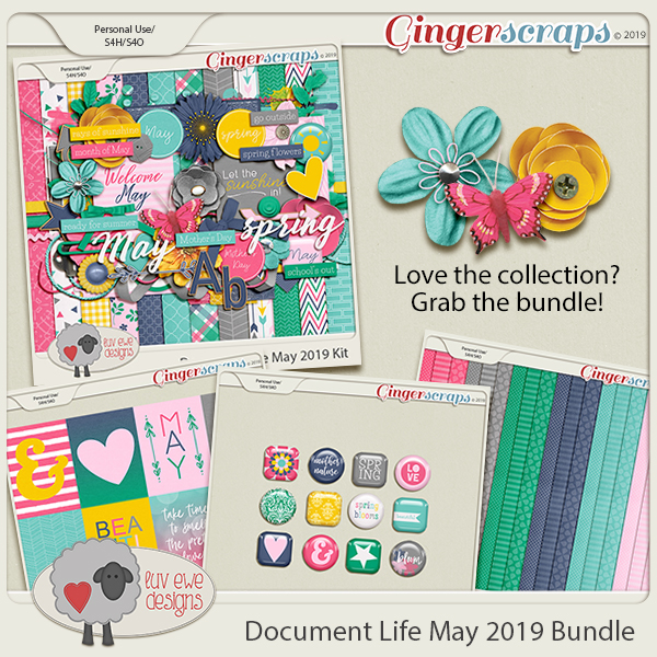Document Life May 2019 Bundle by Luv Ewe Designs