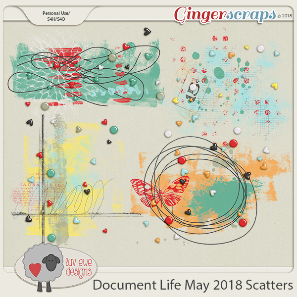 Document Life May 2018 Scatters by Luv Ewe Designs