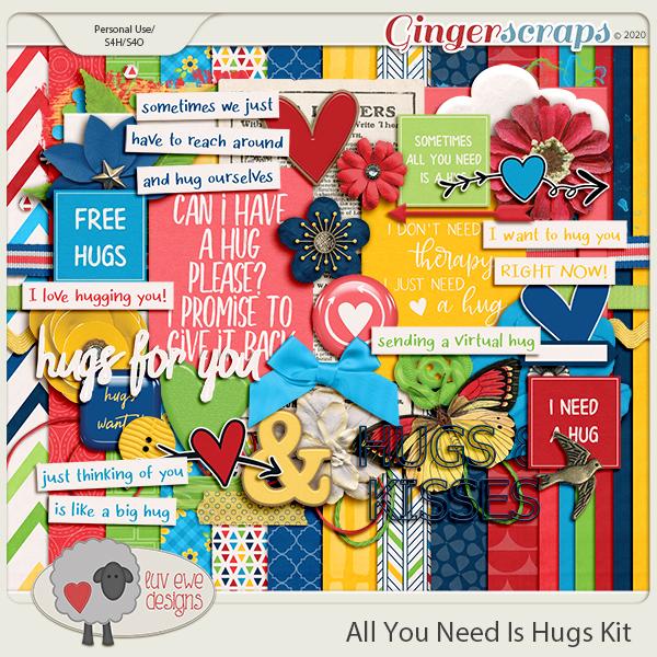 All You Need Is Hugs Kit by Luv Ewe Designs