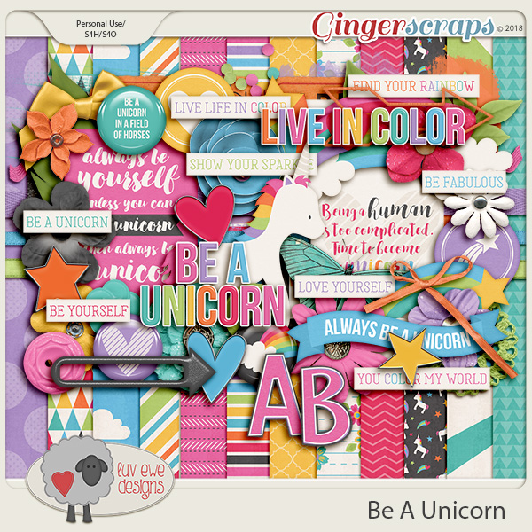 Be A Unicorn by Luv Ewe Designs