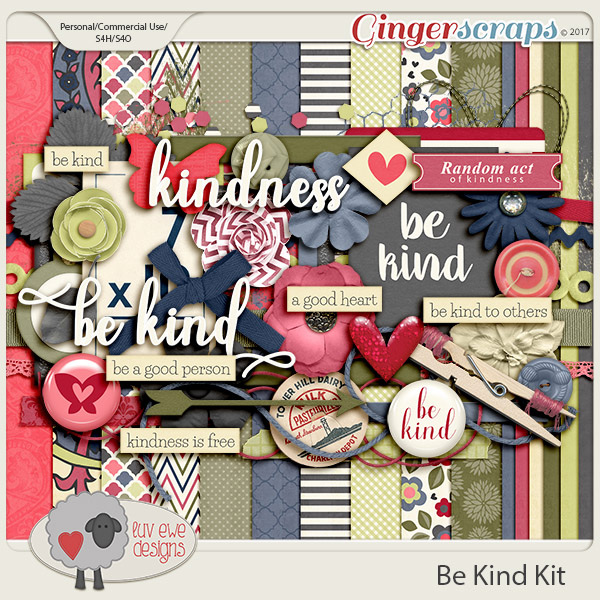 Be Kind Kit by Luv Ewe Designs