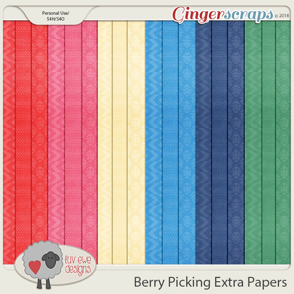Berry Picking Extras by Luv Ewe Designs