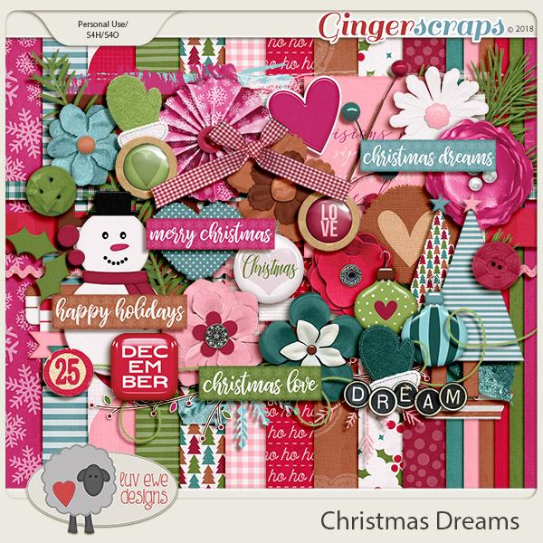 Christmas Dreams Kit by Luv Ewe Designs
