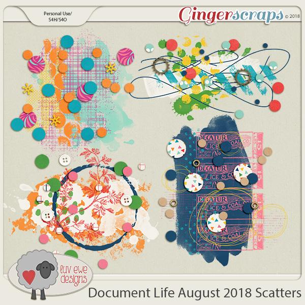 Document Life August 2018 Splatters by Luv Ewe Designs