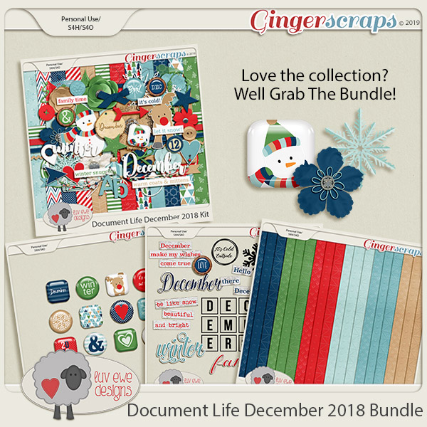 Document Life December 2018 Bundle by Luv Ewe Designs