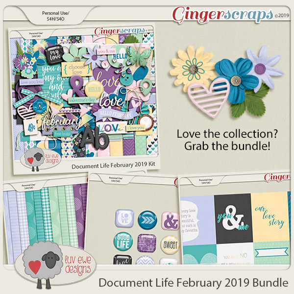 Document Life February 2019 Bundle by Luv Ewe Designs