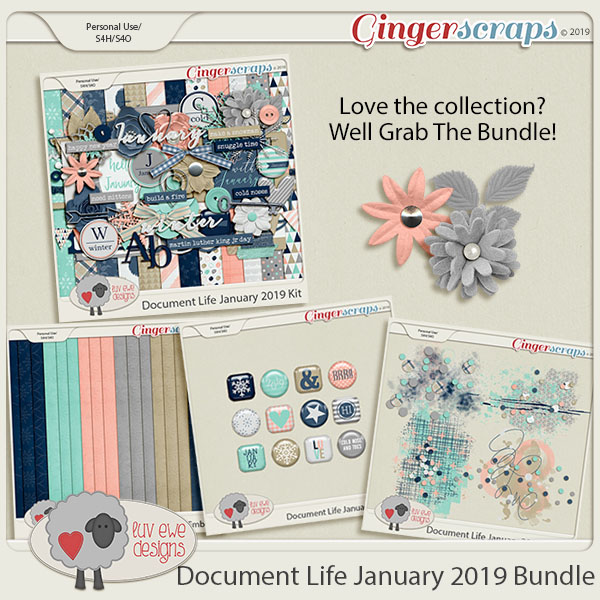Document Life January 2019 Bundle by Luv Ewe Designs