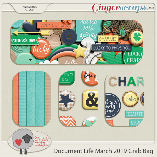 Document Life March 2019 Grab Bag by Luv Ewe Designs