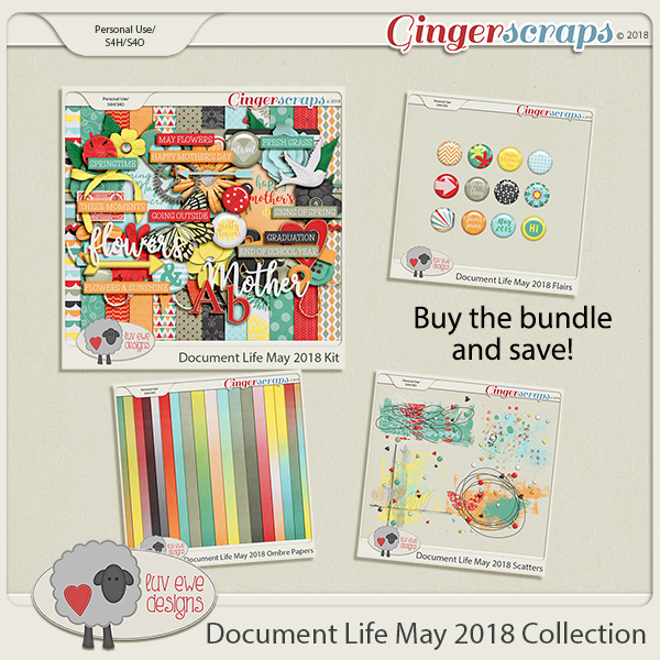 Document Life May 2018 Collection by Luv Ewe Designs