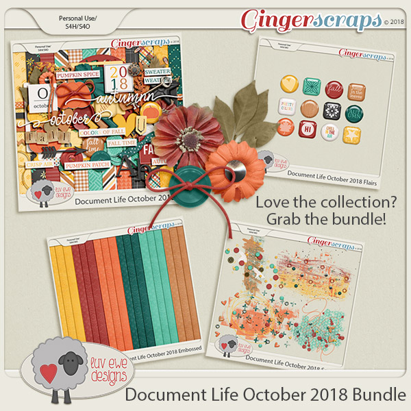 Document Life October 2018 Bundle by Luv Ewe Designs