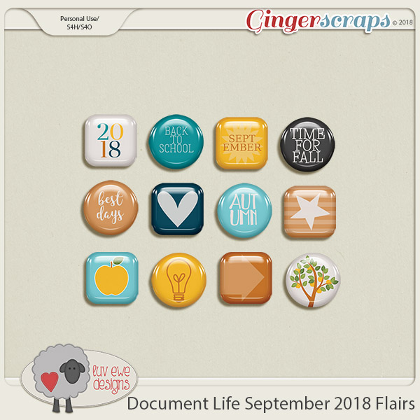 Document Life September 2018 Flairs by Luv Ewe Designs