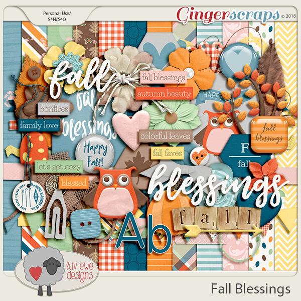 Fall Blessings by Luv Ewe Designs
