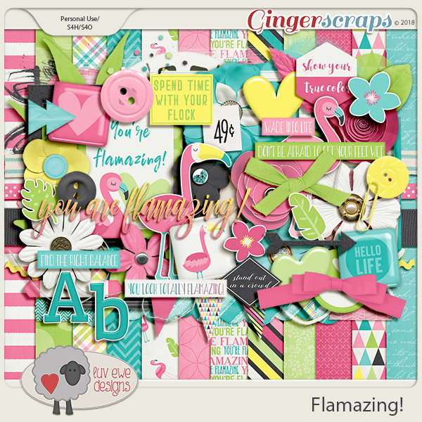 Flamazing! by Luv Ewe Designs