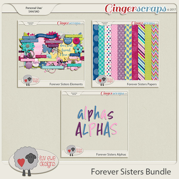 Forever Sisters Bundle by Luv Ewe Designs