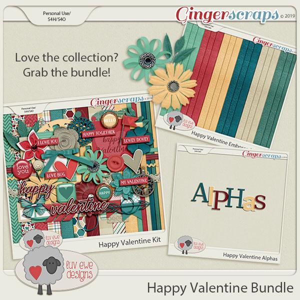 Happy Valentine Bundle by Luv Ewe Designs