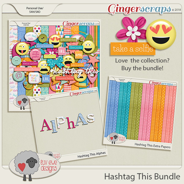 Hashtag This Bundle by Luv Ewe Designs