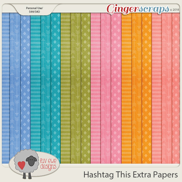 Hashtag This Extras by Luv Ewe Designs