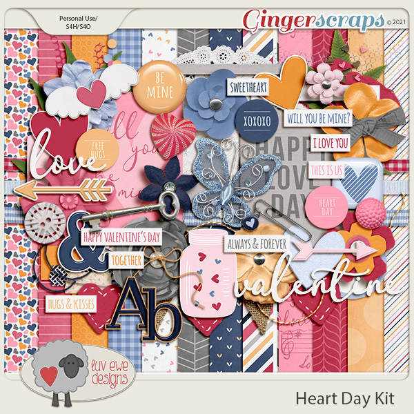 Heart Day Kit by Luv Ewe Designs