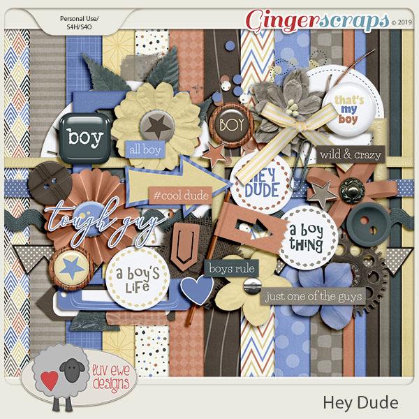 Hey Dude by Luv Ewe Designs