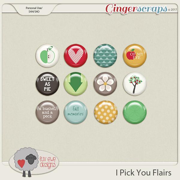 I Pick You Flairs by Luv Ewe Designs