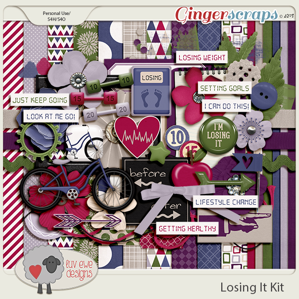 Losing It Kit by Luv Ewe Designs