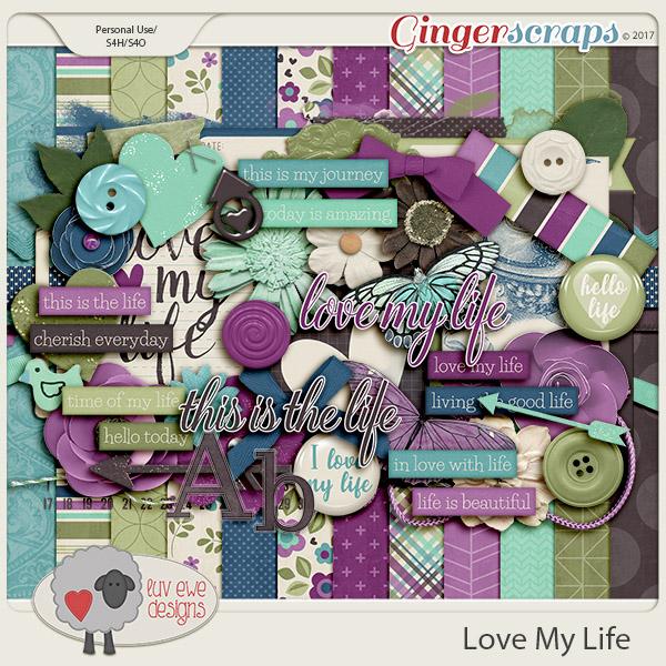 Love My Life Kit by Luv Ewe Designs
