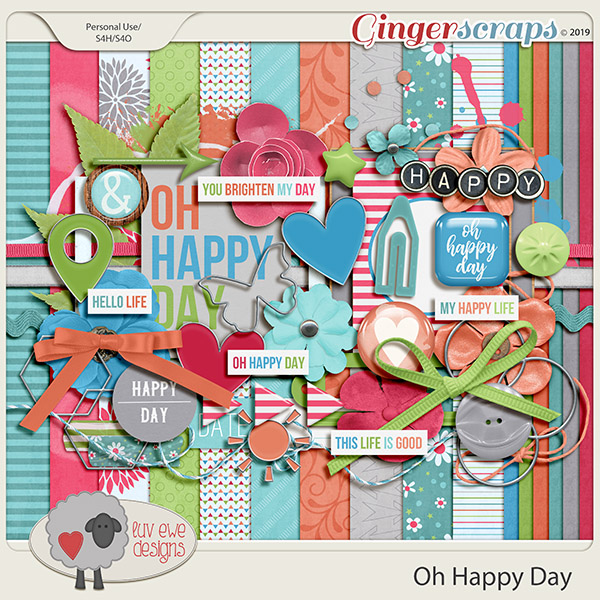 Oh Happy Day Kit by Luv Ewe Designs