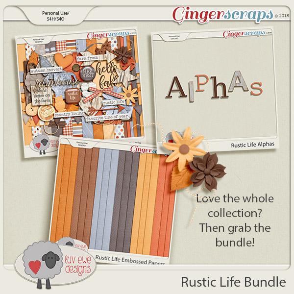 Rustic Life Bundle by Luv Ewe Designs
