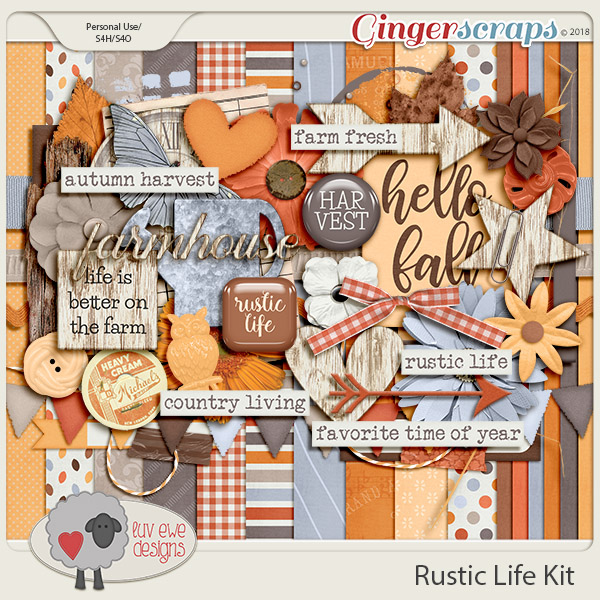 Rustic Life Kit by Luv Ewe Designs