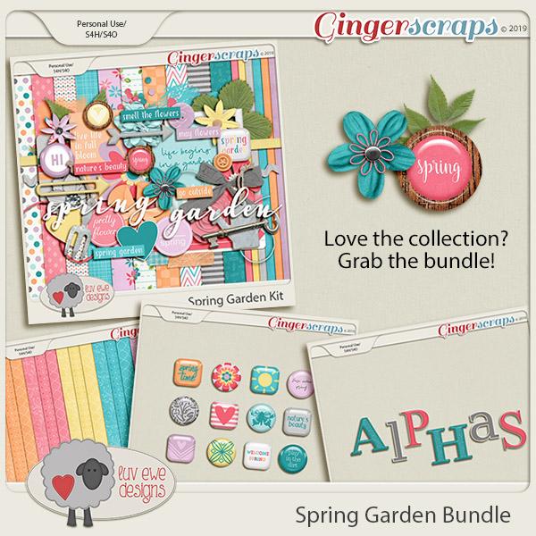 Spring Garden Bundle by Luv Ewe Designs