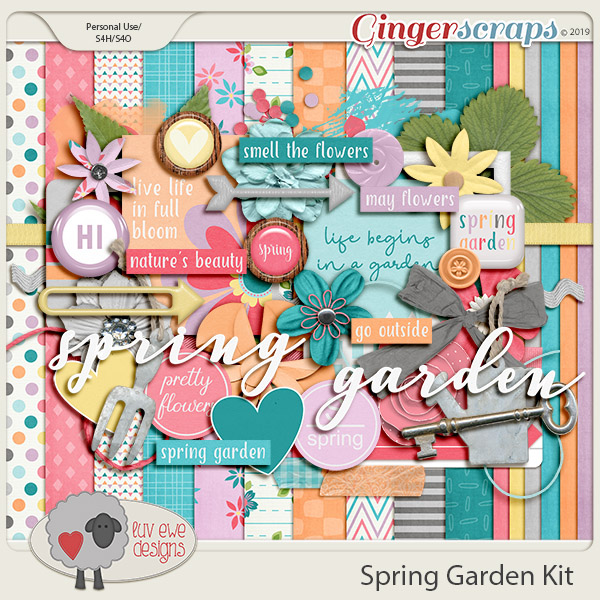 Spring Garden Kit by Luv Ewe Designs
