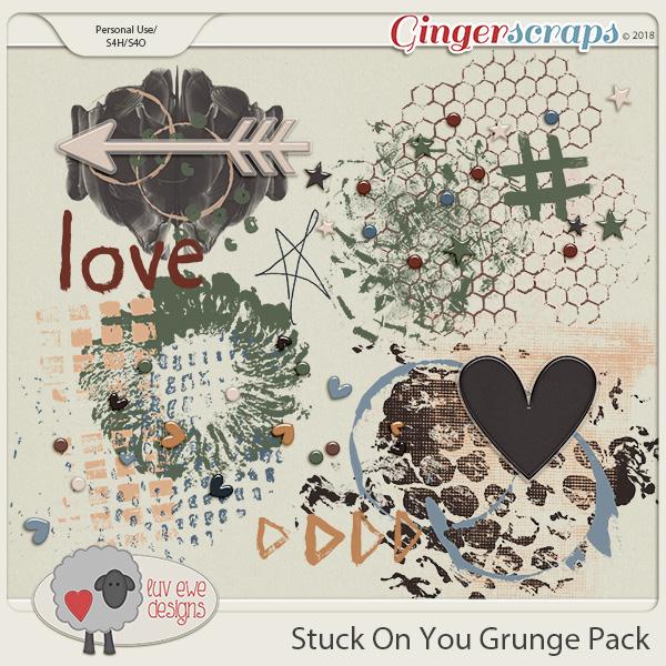 Stuck On You Grunge Pack by Luv Ewe Designs