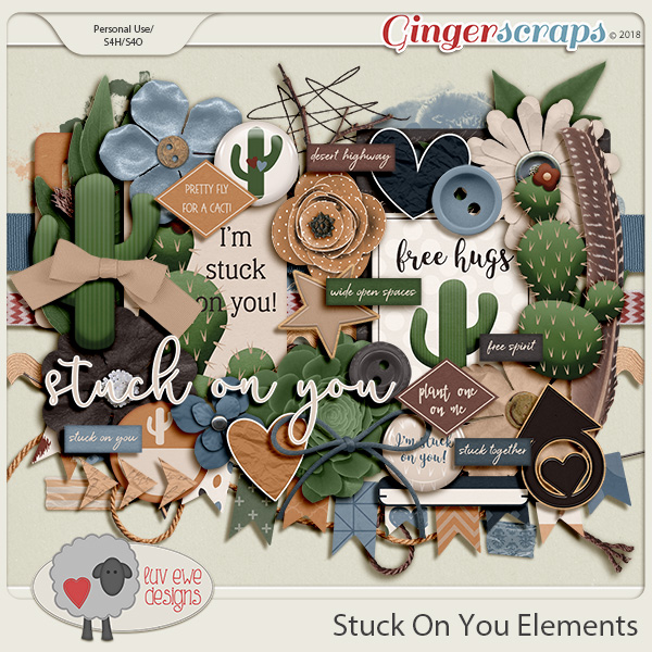 Stuck On You Elements by Luv Ewe Designs