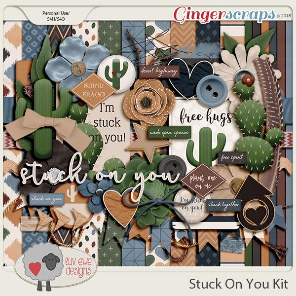 Stuck On You Kit by Luv Ewe Designs