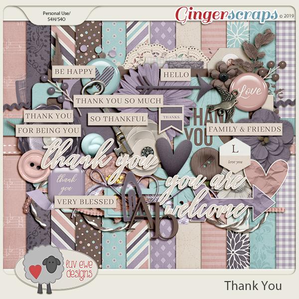 Thank You Kit by Luv Ewe Designs