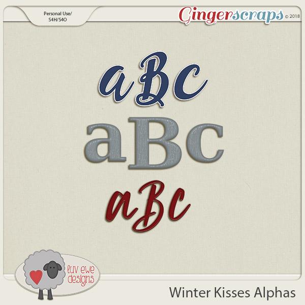 Winter Kisses Alphas by Luv Ewe Designs