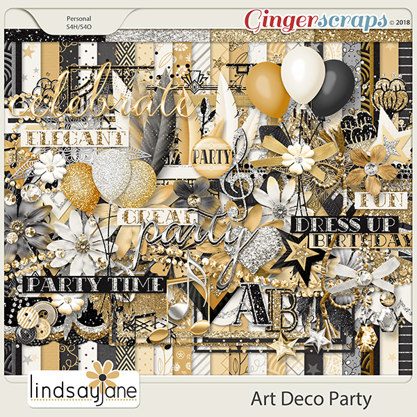 Art Deco Party by Lindsay Jane