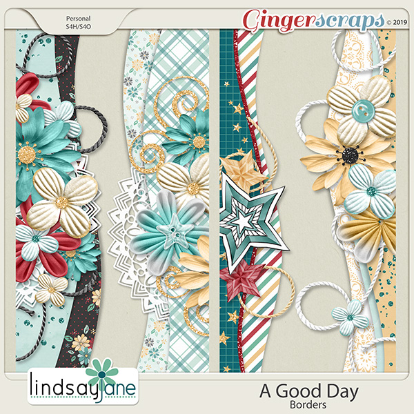 A Good Day Borders by Lindsay Jane