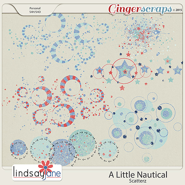 A Little Nautical Scatterz by Lindsay Jane