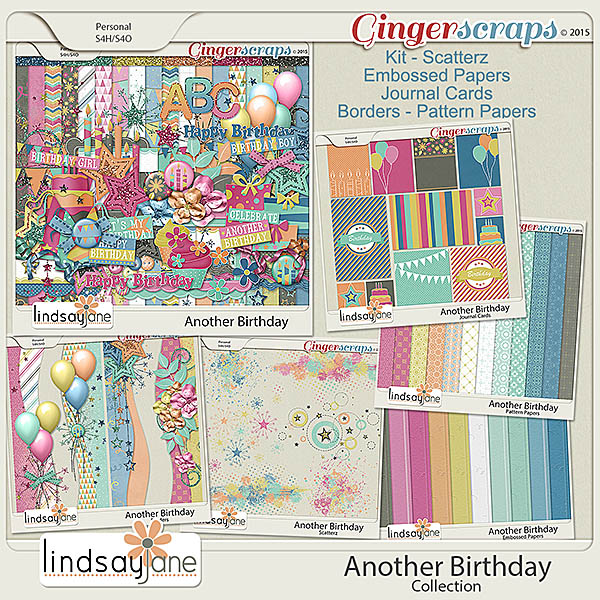 Another Birthday Collection by Lindsay Jane