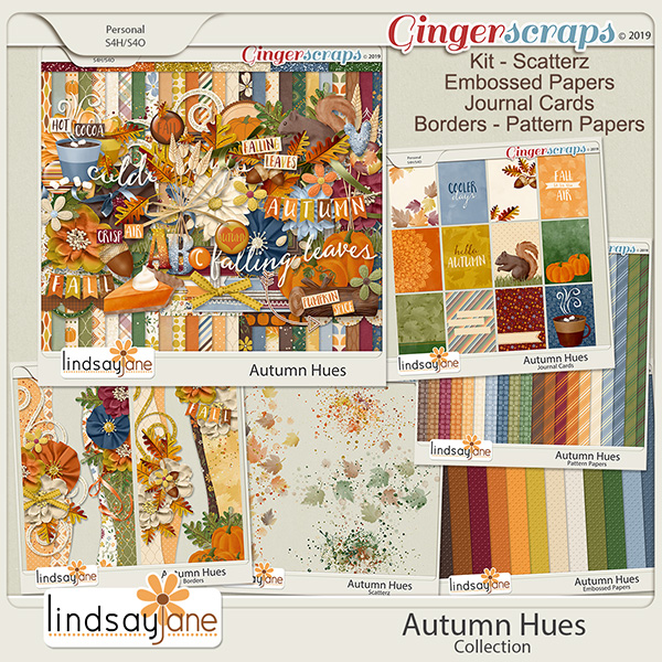 Autumn Hues Collection by Lindsay Jane