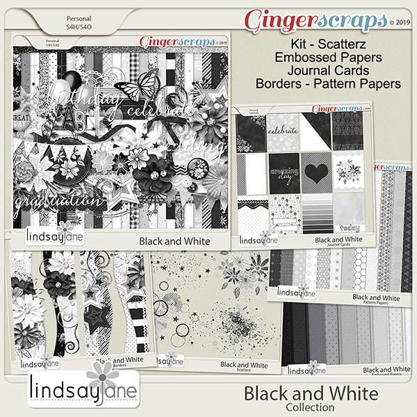 Black and White Collection by Lindsay Jane