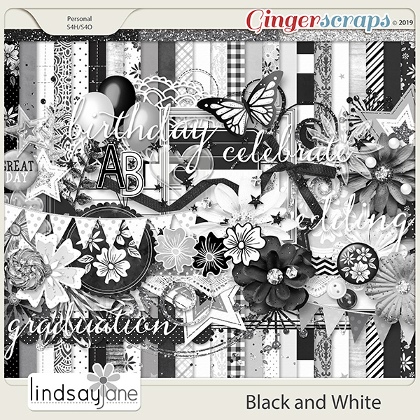 Black and White by Lindsay Jane