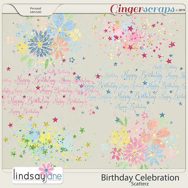 Birthday Celebration Scatterz by Lindsay Jane