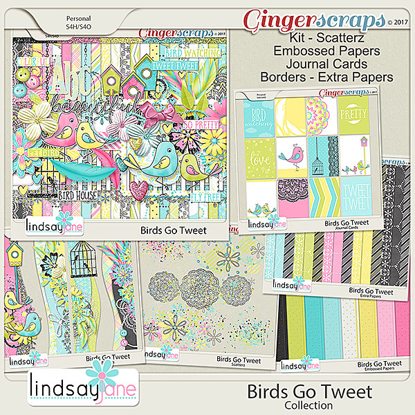 Birds Go Tweet Collection by Lindsay Jane